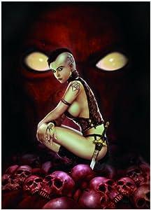 International Publishing 0701N23010b-Calavera Warrior, clásica Puzzle