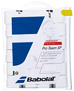 Babolat Pro Team SP White - Overgrip Tennis - Pack of 12