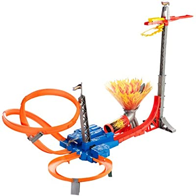 Hot Wheels - Pista Salto Infernal (Mattel) de Mattel