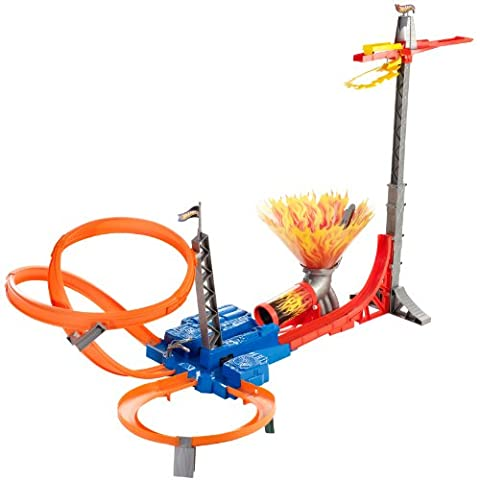 Hot Wheels Sky Jump Frenzy Track Set