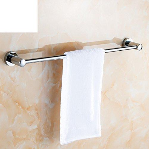 All-in rame portasciugamani/Rame cromo bagno portasciugamani/Telo da bagno estensione asta tonda/portasciugamani Stelo (Stecca Di Estensione)