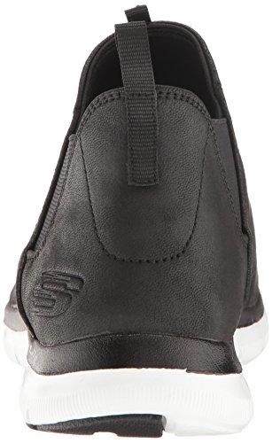 Skechers Damen 11729 / Ccbk Flex Appeal-sweet Carboncino / Nero Low-top Nero