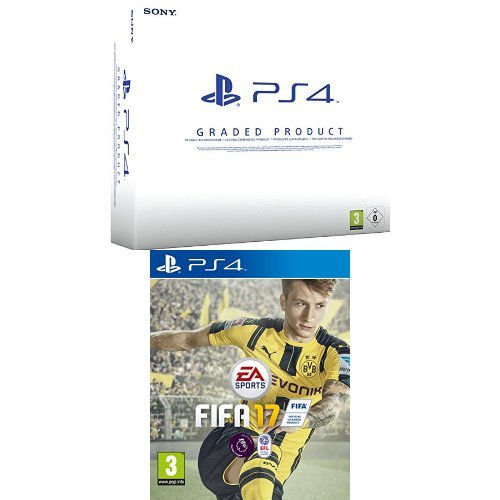 Price comparison product image Sony PlayStation 4 Graded Console + FIFA 17