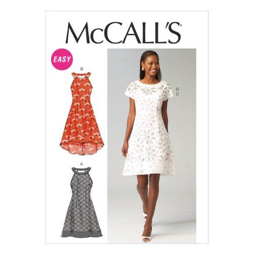 mccalls-patterns-6883-patron-de-robe-pour-femme-multicolore-tailles-34-36-38-40-42