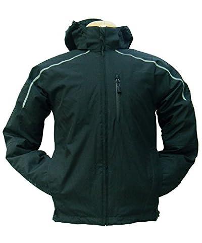Men's Henri Lloyd Blue Eco Jacket Black/Reflective Medium