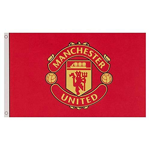 Manchester United Football Club Official Large Flag Big Crest Game Fan Banner -