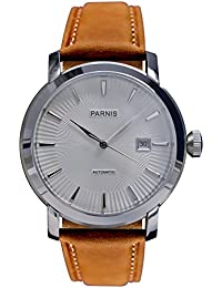 LIV MORRIS PARNIS MIYOTA Modell 3213 0732066354246 - Reloj para hombres color marrón