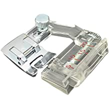 Prensatelas y cintas al bies compatible con máquinas de coser domésticas Brother, Janome, Toyota