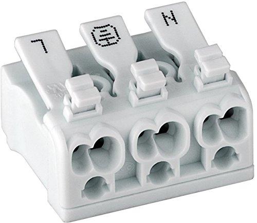 Preisvergleich Produktbild 5 Stück Schnellverbinder Lüsterklemmen für 230-450V,  16A