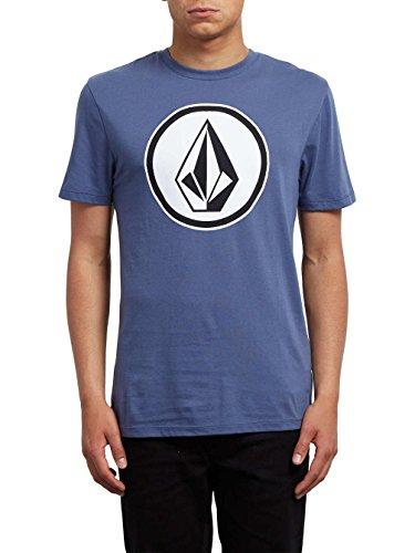 Volcom Classic Stone DD SS Shirt, Herren blau (dunkel / hell)