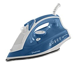 Russell Hobbs Supreme Steam Traditional Iron 23061, 2400 W - White/Blue