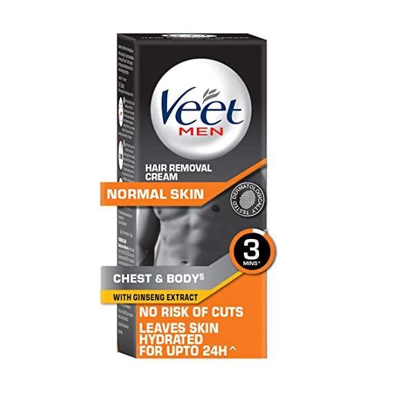 Veet Hair Removal Cream for Men, Normal Skin - 50g