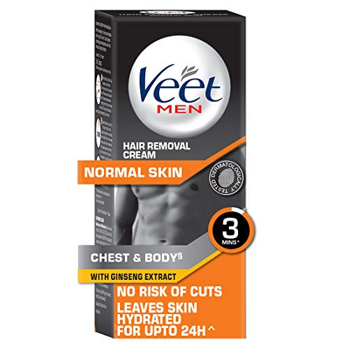 Buy Veet Hair Removal Cream for Men, Normal Skin – 50g online in India at discounted price