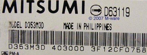Diskettenlaufwerk Mitsumi D359M3D ID116 - 3