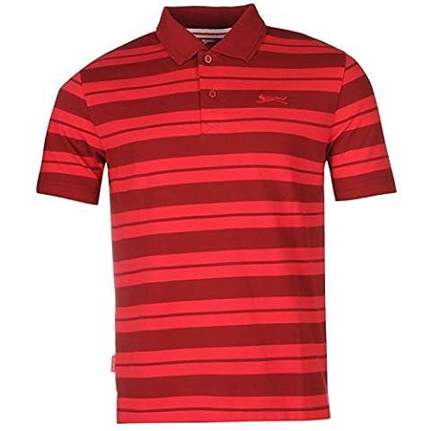 Polo Slazenger - Slazenger piqué Yarn Dye Polo pour homme