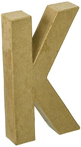 Darice papermache Buchstabe 6in - 6-zoll-craft Buchstaben
