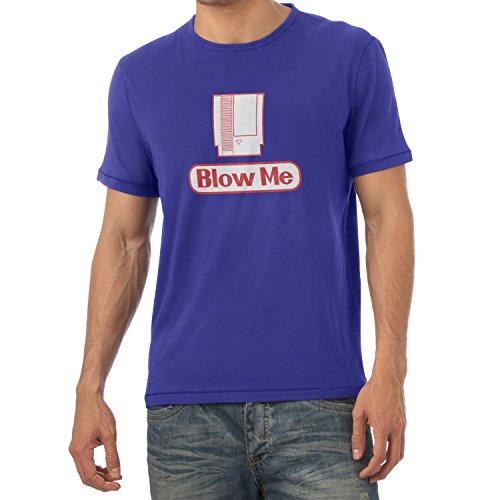 TEXLAB - Blow Me - Herren T-Shirt, Größe L, marine