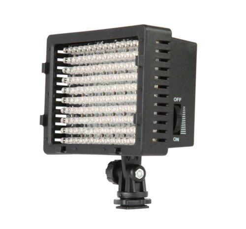 Luce LED,Andoer faretto led,160 LEDs Light for Studio,Studio Video Photo Pad LED Lamp Panel Lighting Light for Canon Nikon DSLR Camera DV Camcorder 3200-5600K