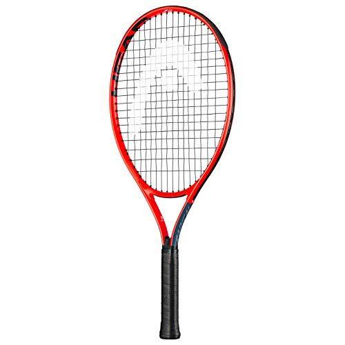 Head Radical Jr. 23, Racchetta da Tennis Gioventù Unisex, Grey/Orange, 05