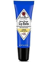 JACK BLACK Baume à Lèvres Thérapie Intense FPS 25 Citron