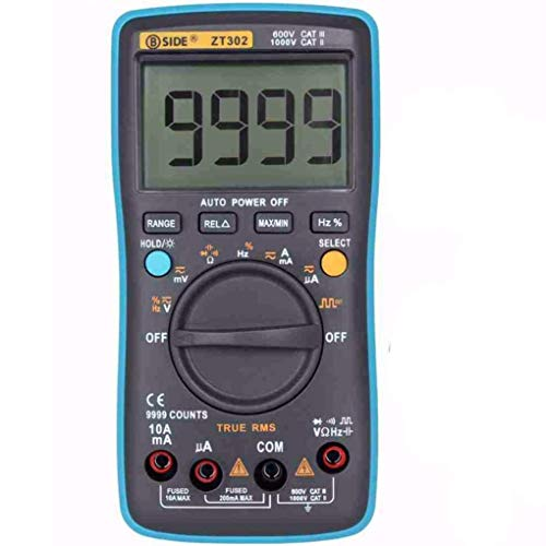 ZT302 True RMS Digital Multimeter 9999 Zählt Multifunktions-AC/DC-Spannungs-Temperatur-Kapazitäts-Tester DMM Wireless-true Rms Multimeter
