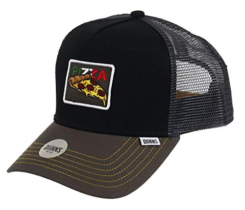 Djinns Food Pizza (black) - Trucker Cap Meshcap Hat Kappe Mütze Caps