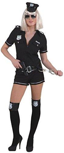 O9657-36 schwarz Polizei Lady Police Overall -