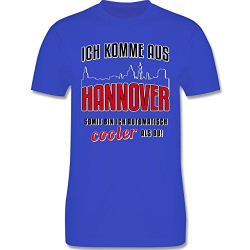 Städte - Ich komme aus Hannover - Herren Premium T-Shirt Royalblau
