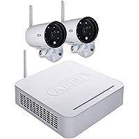 ABUS 003035 - TVAC18000B Set digital inhalambrico compuesto por grabadora+2 cámaras y con Apps