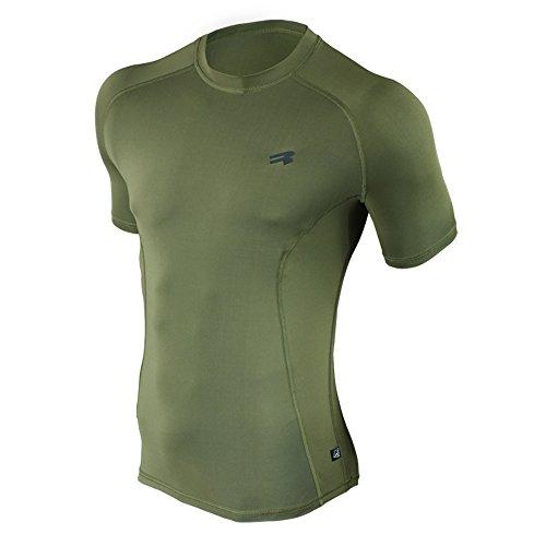 ROUGH RADICAL Funktions T-Shirt Militär FURY ARMY (L, khaki) - Militär T-shirt