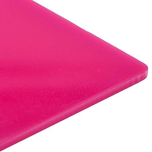 3mm Plexiglas magenta pink gloss gegossenem Acryl Kunststoff Tabelle 16Größen zur Auswahl, rose, 420mm x 297mm / A3