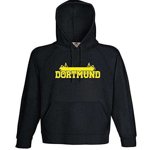 Dortmund Fan Kapuzenshirt bis 3XL