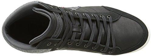 Le Coq Sportif Herren Portalet Mid Craft Felt Sneakers Schwarz (BlackBlack)