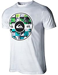 Quiksilver fixed woodblock- Camiseta casual hombre