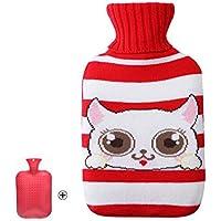 Wärmflasche mit schönem Katzenmuster - 2 Liter preisvergleich bei billige-tabletten.eu