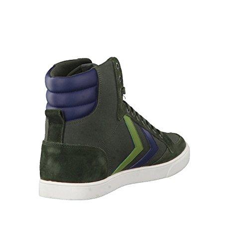 Stadil Canvas Unisex High Duo Hummel Erwachsene Slimmer Gr眉n Hohe Sneaker Rosin Zxw4tnaq