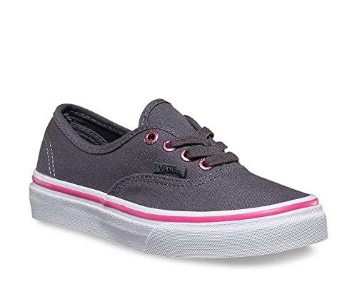 Vans Toddler Authentic (multi eyelets) perf/hot pink Fall Winter 2016 - 8C - Schwarz Pink Vans Und Schuhe