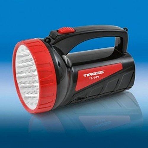 XXL Taschenlampe Handscheinwerfer 2 in 1 LED Akku-Handlampe Standlampe TS-689
