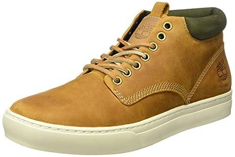 Timberland Ek2 0Cupsl, Sneakers Hautes homme, jaune (Wheat) , 47.5 EU
