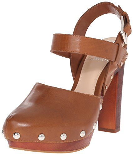 Vince Camuto Elric Femmes Cuir Talons Totally Toffee