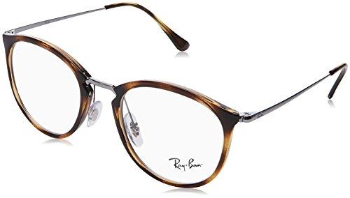 Ray-Ban Unisex-Erwachsene 0RX 7140 2012 49 Brillengestelle, Braun (Havana),