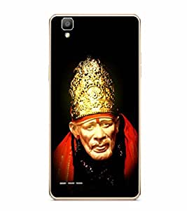Fuson Designer Back Case Cover for Oppo F1 :: A35 (Indian saint sabaka malik ek aao sai)