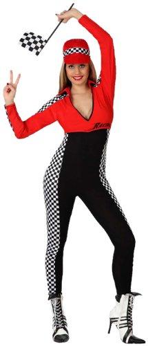 Atosa 8422259156239 - Verkleidung Sexy Rennfahrer, Erwachsene (Sexy Rennfahrer Kostüme)