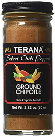 Terana Select Chili Peppers Ground Chipotle 80g Jar