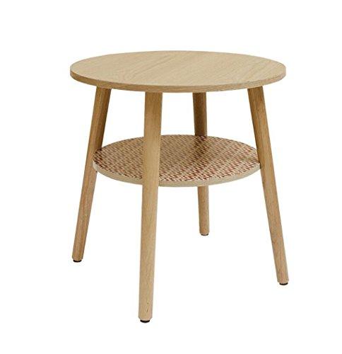 Tavolino Basso Rotondo.End Table Cb C Bin1 Tavolino Rotondo Due Strati Balcone Tavolino Basso In Legno Semplice Tavolino Tavolino Tavolino Angolo Tavolo Pochi A 50 50 Cm