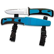 Cuchillo ALBAINOX SUBMARINISMO.Azul