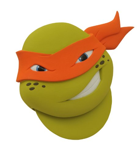 Diamond Select MAY142228 Teenage Mutant Ninja Turtles Spielzeug, grün, Einheitsgröße (Gesicht Teenage Turtles Mutant Ninja)