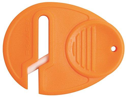 Preisvergleich Produktbild Fiskars Universal Scherenschärfer, Für Rechts- und Linkshänder, Keramik-Schleifköpfe/Kunststoff-Gehäuse, Orange, 1003871