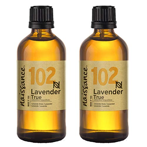 Naissance Aceite Esencial de Lavanda n. º 102 - 200ml 2x100ml - Vegano y no OGM GMO