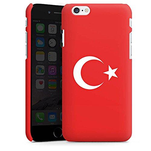 Apple iPhone X Silikon Hülle Case Schutzhülle Flag of Turkey Türkei Flagge Türkiye Premium Case matt